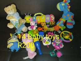 14 Baby toys available