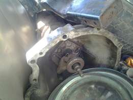 Nissan L18 engine and gearbox