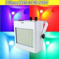 LED strobe lights 108pcs SMD 5050 DJ Disco Party KTV
