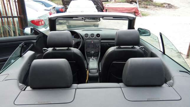Smooth Driving Registered 2004 Audi A4 1.8T Convertible In Good Condit Lekki - image 4