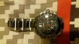 Price reduced - Mens stainless steel watch