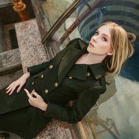 Ткань   тканина зеленое сукно пальтовое 100% шерсть вовна c0875d41a7027