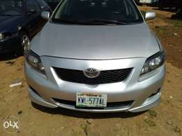 2010 Toyota Corolla Sport (first body paint)