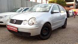 Volkswagen Polo, Silver ,Year 2004, Engine 1400cc Fsi, Automatic