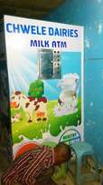 Milk Selling Machine(ATM)