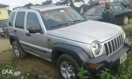 Neatly used Liberty jeep 2005 model for sale