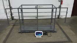 Livestock Scale with cage