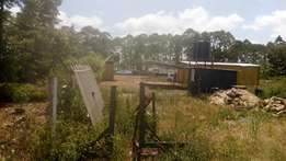 Prime plot for sale touching sagana rd,btwn kenol & kakuzi.Kakuzi