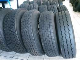 Specials on Secondhand truck tyres 13R22.5 in Witbank Mpumalanga