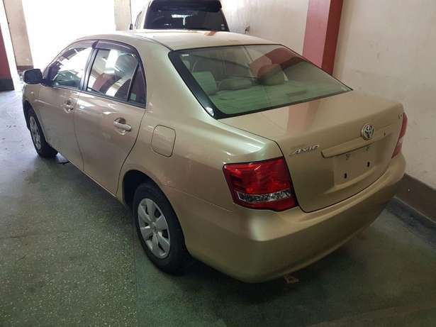 Toyota Axio Gold colour KCM number 2009 model loaded with alloy r Mombasa Island - image 3