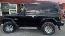 Mitsubishi Pajero Diesel Manual Very Clean