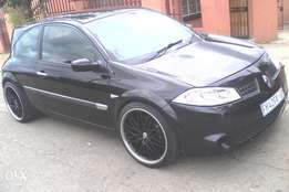 2005 renault megane 2.0l turbo to sell or swop