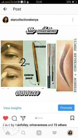 2 in 1 eyebrow concealer and pencil Nairobi CBD - image 1