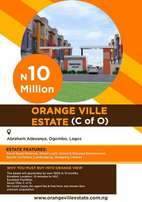 Estate Land forsale in Lagos with c of o