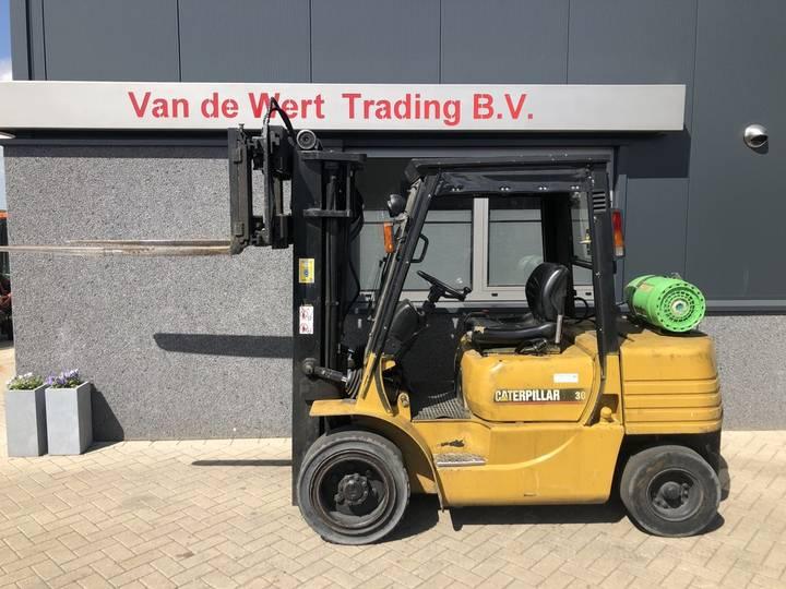 Heftruck CATERPILLAR GP30 triplo475 freelift sideshift ...