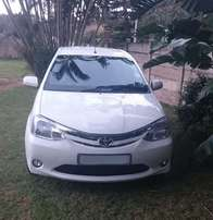 2012 Toyota Etios Hatchback 1.5 XS 5D FOR SALE (SHOWROOM CONDITION)