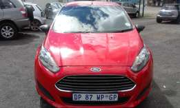 Ford Fiester 1.4 Eco Boost Model 2015 5 Door Colour Red Factory A/C&MP