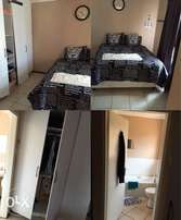 Main bedroom to rent with bath and toilet inside in cosmocity ext 7