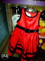 Baby girl party gown