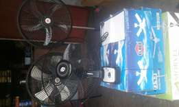 Fans available