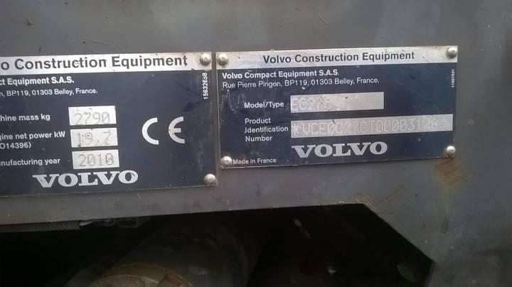 Volvo Ec27c - 2010 - image 8