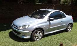 2006 Peugeot 206 cc 1.6 5DR convertible for sale