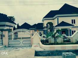 5bedroom fully detached duplex with 3rooms bq in gwarimpa for sale