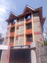 Two bedroom apartment for rent in Lower Kabete, Mwimuto area at 22k