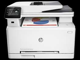 HP Color LaserJet Pro MFP M277dw (3 in 1) printer.