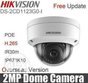 Hikvision IP Cam 2MP PoE New
