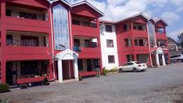 Muigai commercial 2 bedroom to let in section 58 in a gated community.
