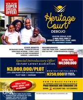 Do not miss Heritage Court!