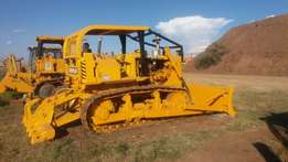 BULLDOZER D6D with ripper