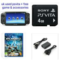 UK used Psvita + game & accessories