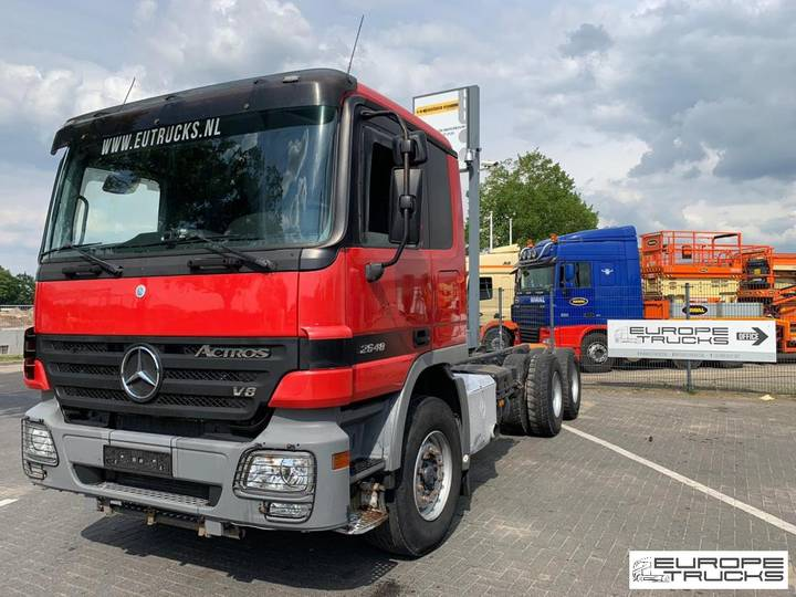 Mercedes-Benz Actros 2651 / 3351 Full Steel - German - Sleeper cab - V8 - 2007