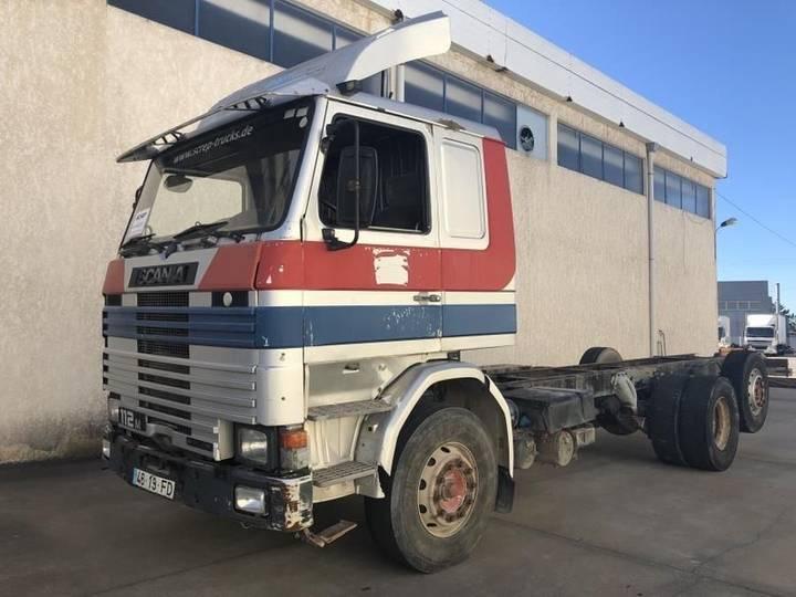 Scania 112M Intercooler - 6x2 - 1990