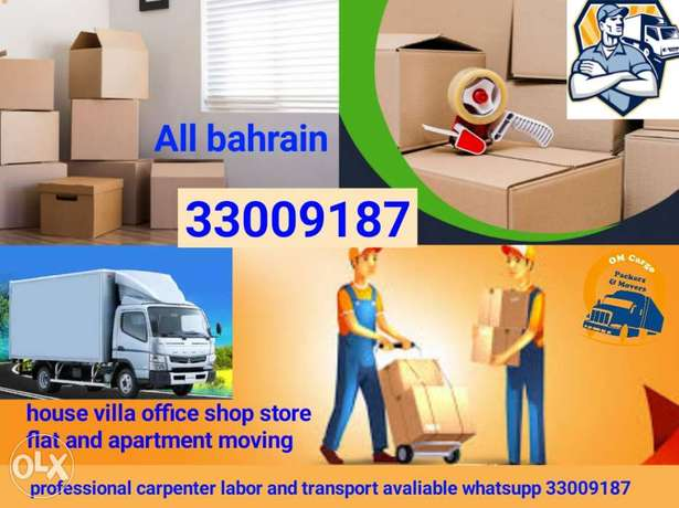Packing Moving services all over Bahrain professional mover