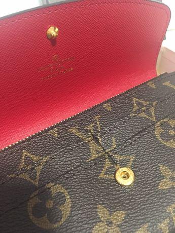 Красивый модный кожаный кошелёк Louis Vuitton(Луи Виттон) подарок Харьков -  изображение 4 3918de90bac