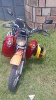 Well maintained Focin 125 motorbike for sale (private uses for now)