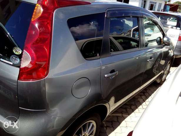 Nissan note grey color Fully loaded unit new plate number fresh import Mombasa Island - image 5