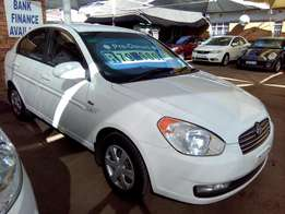 1.6 GLS Hyundai Accent A/T from R1799 pm