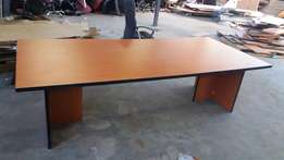 (12 to15 seaters) Boardroom Table (Cherry-Wood) Used. Clean & neat