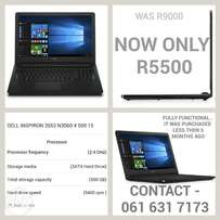Dell laptop pre owned for sale asap