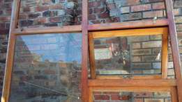 Large window, Wooden Frame including glass