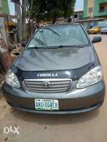 Sharp sales Toyota corolla 06 model first body