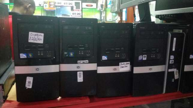 Ex UK HP core2 towers.. 4gb,250gb, dvdw Mombasa Island - image 4