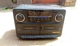 Cheap Sony mega bass radio