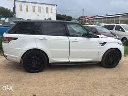 Range Rover Sport autobiography 2013 with 2018 shape
