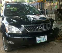 Registered Lexus rx330'08 for sale