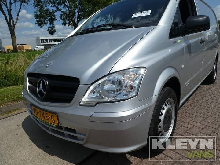 Mercedes-Benz VITO 110 CDI LONG AC lang, metallic, airc - 2014 - image 9